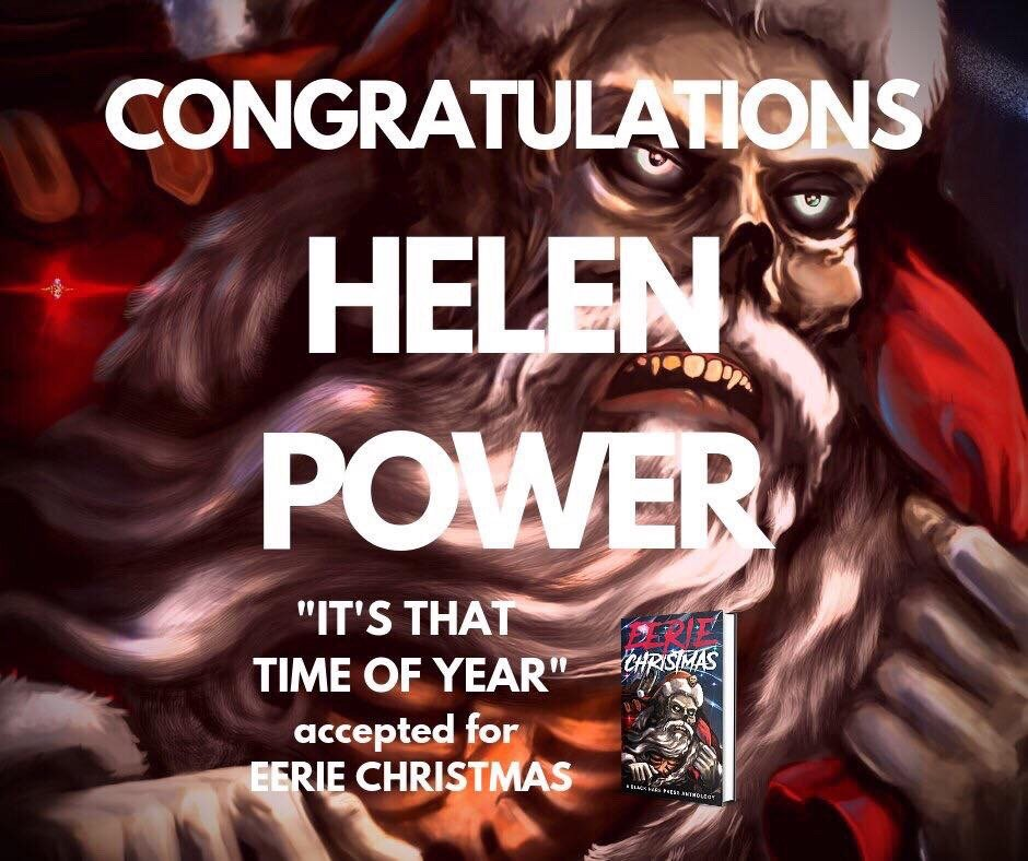 """""""It's that Time of Year"""" to be published in horror Christmas Anthology"""