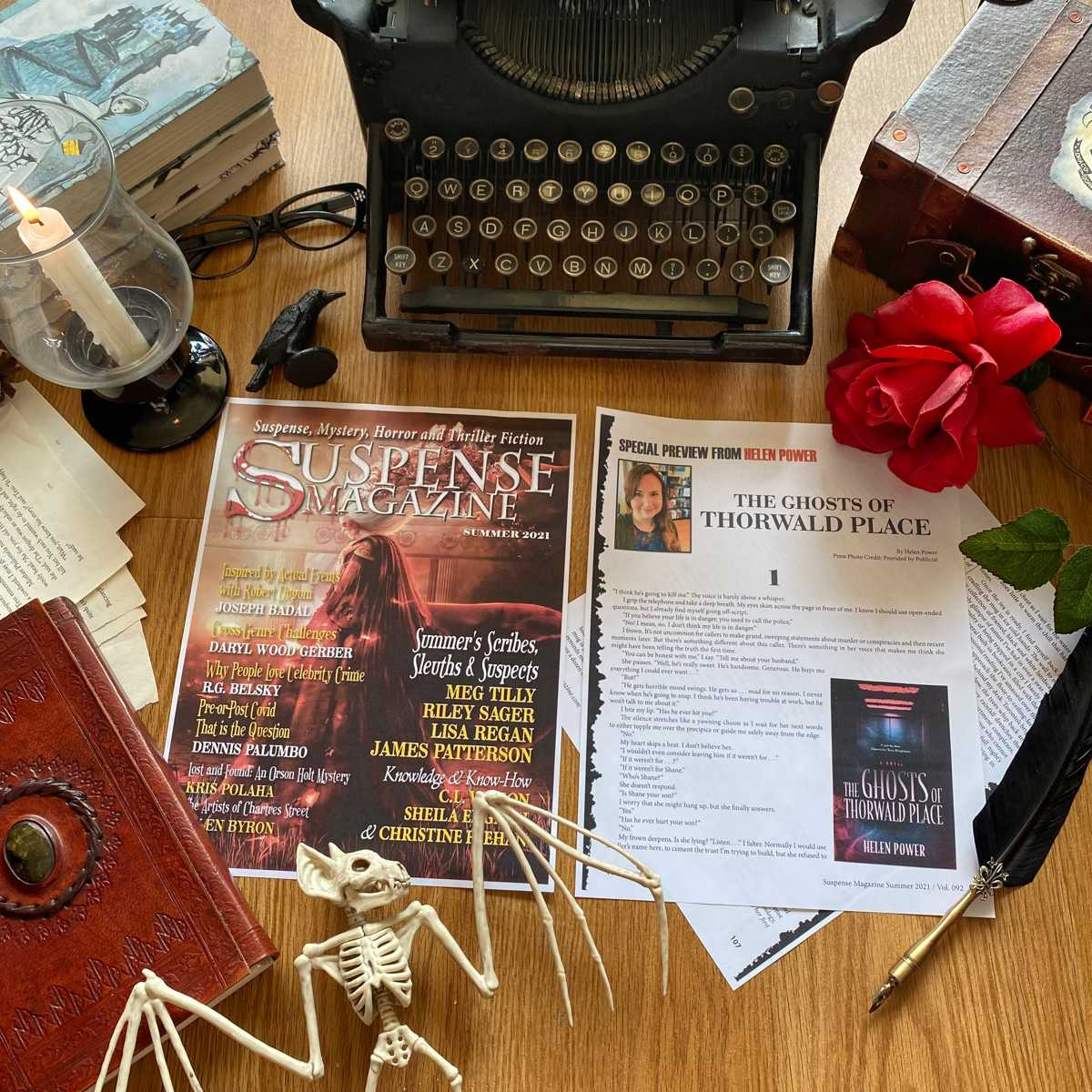 """Excerpt from """"The Ghosts of Thorwald Place"""" in Suspense Magazine"""