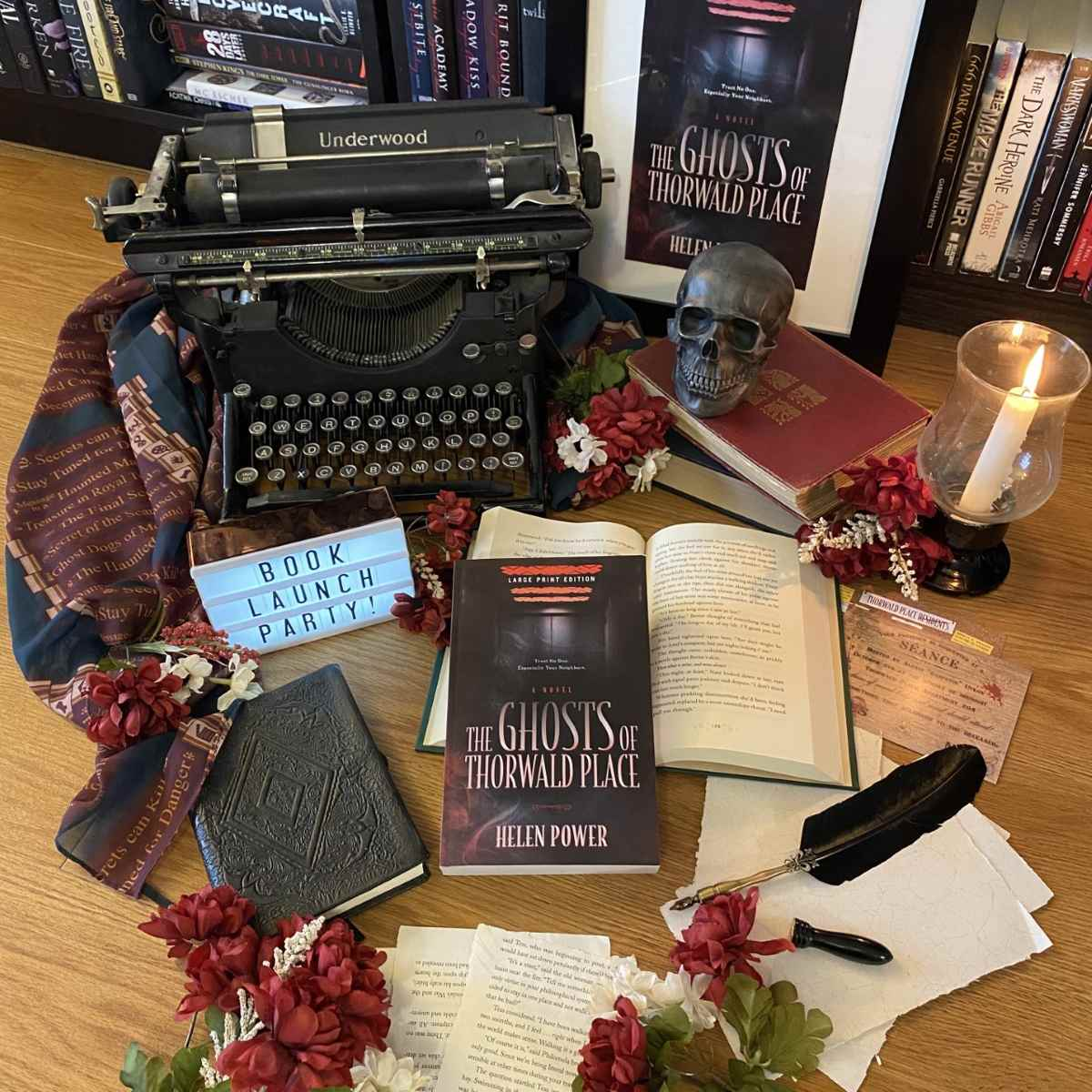Book Launch Party: The Ghosts of Thorwald Place!